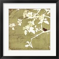 Song Birds I Framed Print