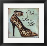Exotic Shoe I Framed Print
