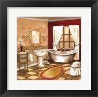 Florentine Bath Framed Print