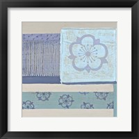 Decorative Asian Abstract III Framed Print