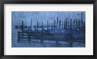Framed Blue Canal II