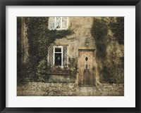 Framed English Cottage III