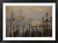 Dawn & the Gondolas II Framed Print