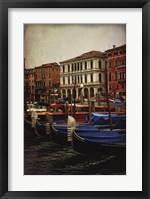Framed Venetian Canals II