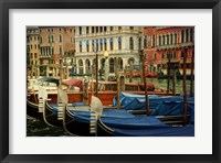 Venetian Canals IV Framed Print