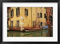 Venetian Canals VI Framed Print