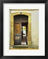 Framed Weathered Doorway III