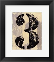 Framed Vintage Numbers III