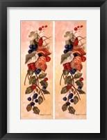 Framed Berry Vine I