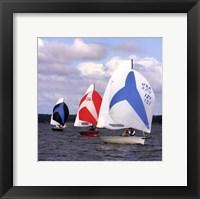 Framed Water Racing I