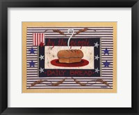Framed Americanna Bread
