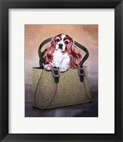 Cavalier and Carry Framed Print