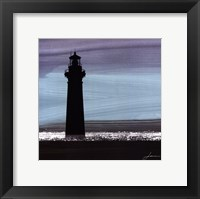 Dusky Sea I Framed Print