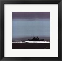Framed Dusky Sea III