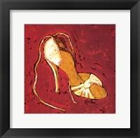 Framed Sassy Shoe II