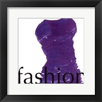 Fashion Lives Framed Print