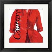 Fashion Couture Framed Print