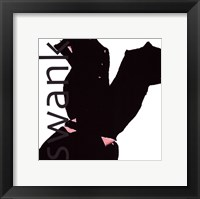 Fashion Swank Framed Print