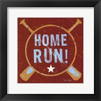 Home Run Framed Print