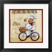 Chef's Market II Framed Print