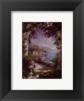Framed Floral Vista