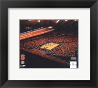 Framed Carrier Dome Record Breaking Crowd Syracuse Vs. Villanova with Overlay
