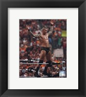 Framed Randy Orton Wrestlemania 26 Action