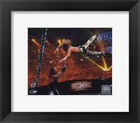 Framed Shawn Michaels Wrestlemania 26 Action