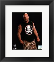 Framed Stone Cold Steve Austin Posed