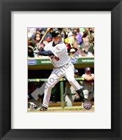 Framed Michael Cuddyer 2010 Action