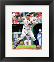 Framed Jim Thome 2010 batting