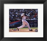 Framed Jason Heyward 1st MLB Home Run with Overlay