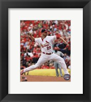 Framed Chris Carpenter 2010 Action