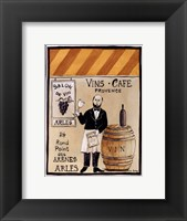 Salon De Vin Framed Print