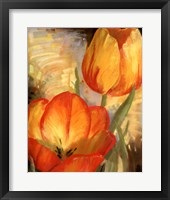 Framed Summer Tulips II