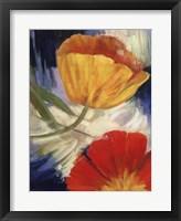 Framed Summer Tulips III