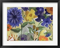 Framed Blue Flowers