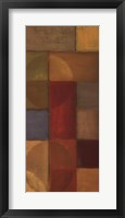 Abstraction In Color II Framed Print