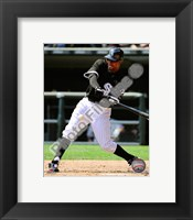Framed Juan Pierre 2010 Action