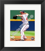 Framed Tommy Hanson 2010 Action