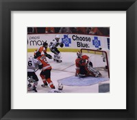 Framed Patrick Kane Game Winning Goal 2009-10 Stanley Cup Finals (#23)