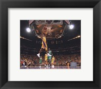 Framed Kobe Bryant Game One of the 2009-10 NBA Finals (#2)