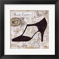 Chaussures III Framed Print