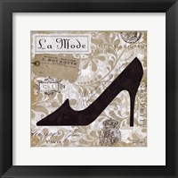 Chaussures IV Framed Print