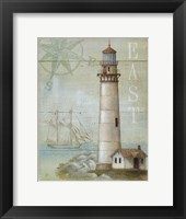 East Coastal Light Framed Print