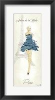 Fashion Lady I Framed Print