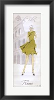 Fashion Lady IV Framed Print