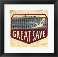 Great Save Framed Print