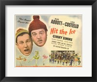 Framed Abbott and Costello, Hit the Ice, c.1943