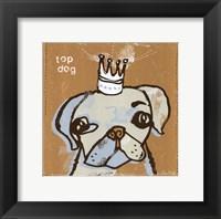 Framed Top Dog